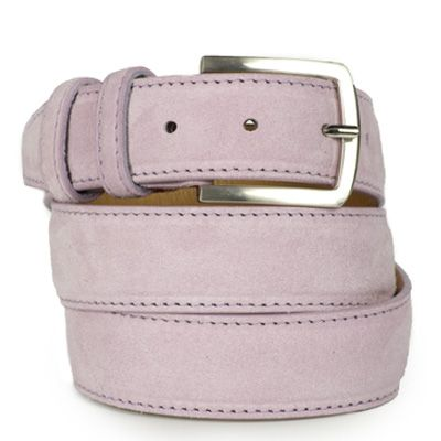 Suede riem:  Velvet Purple by ColorMeSocks™