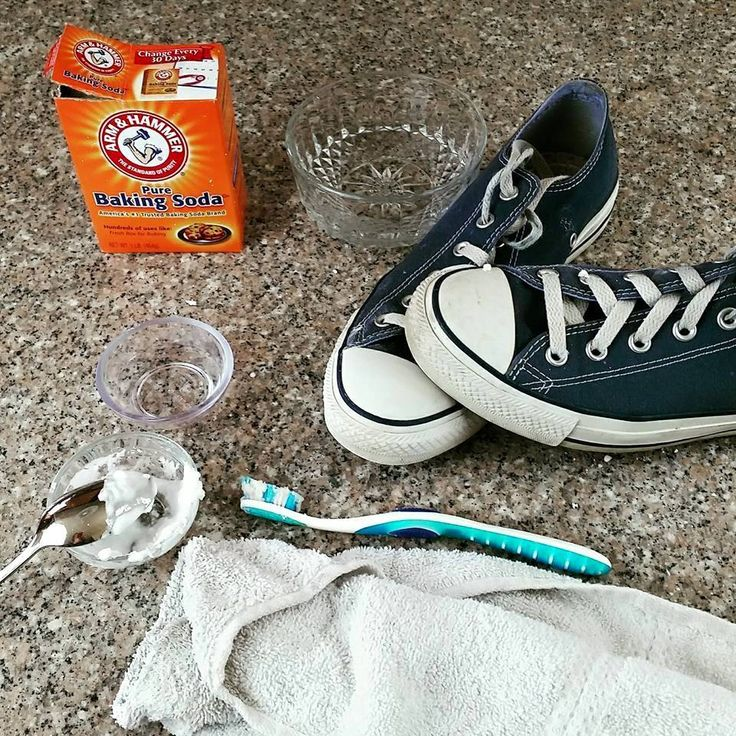 How to clean your Converse Shoes!