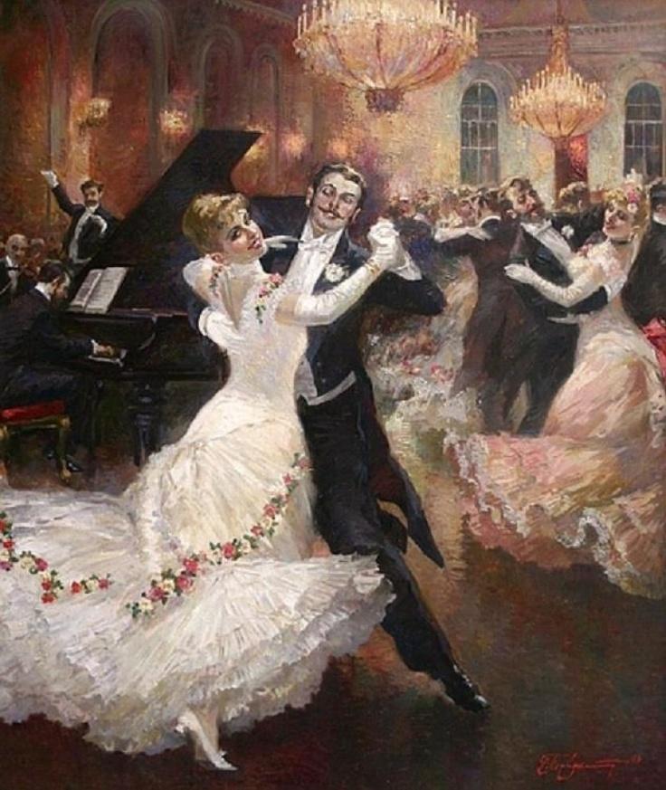 A Viennese Ball by Vladimir Pervunensky, 2006 - Pinterest