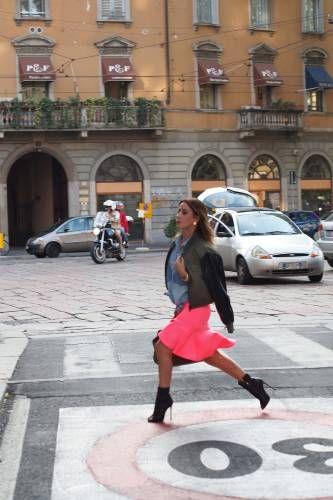 #MFW #Chic #Streetstyle www.modablogger.eu
