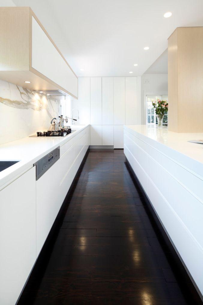 White Kitchen With Miele Appliances