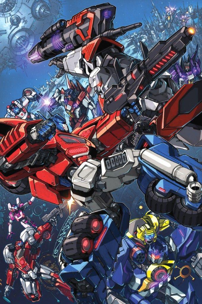 Transformers' Optimus Prime vs Megatron