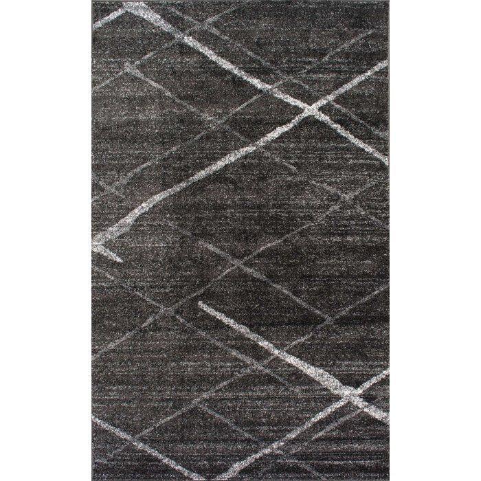 Greig Gray Area Rug Allmodern Com 10x14 320 Greyrugs Dark Grey Rug Dark Gray Area Rug Area Rugs