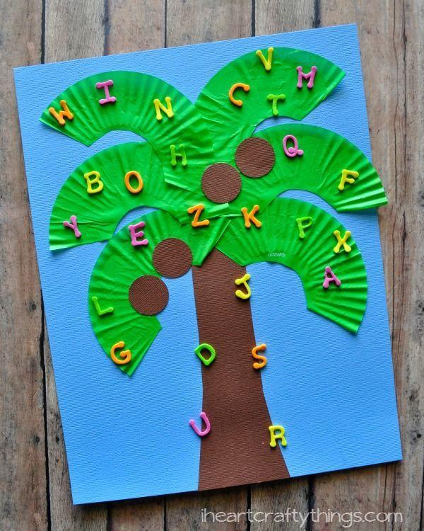 I HEART CRAFTY THINGS: Chicka Chicka Boom Boom Kids Craft