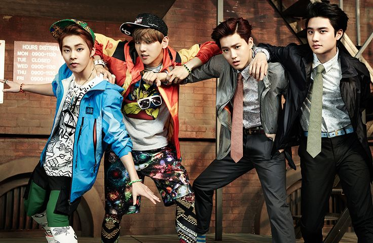 EXO modeling KOLON SPORT in High Cut 2014, Vol. 121