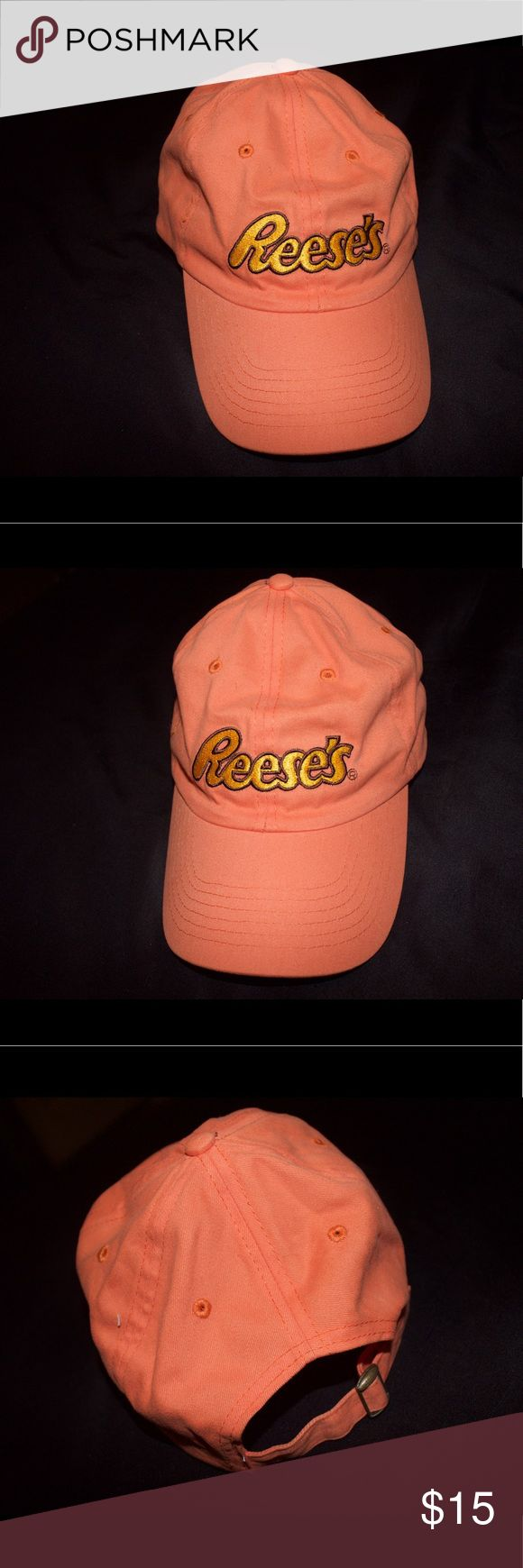🍫🍫🍫Vintage Reese's Hat🍫🍫 No flaws.. comes from smoke free home Tags: Jordan Bape Nike Stussy Nmd Gucci Vintage Retro Trendy Tommy Hilfiger Polo Vlone Guess Kanye Yeezy Roc Air Max Adidas Supreme Cavs Lebron Curry king kyrie hershey Accessories Hats