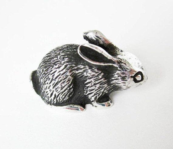 S Kirk /& Fils Argent Sterling Bunny