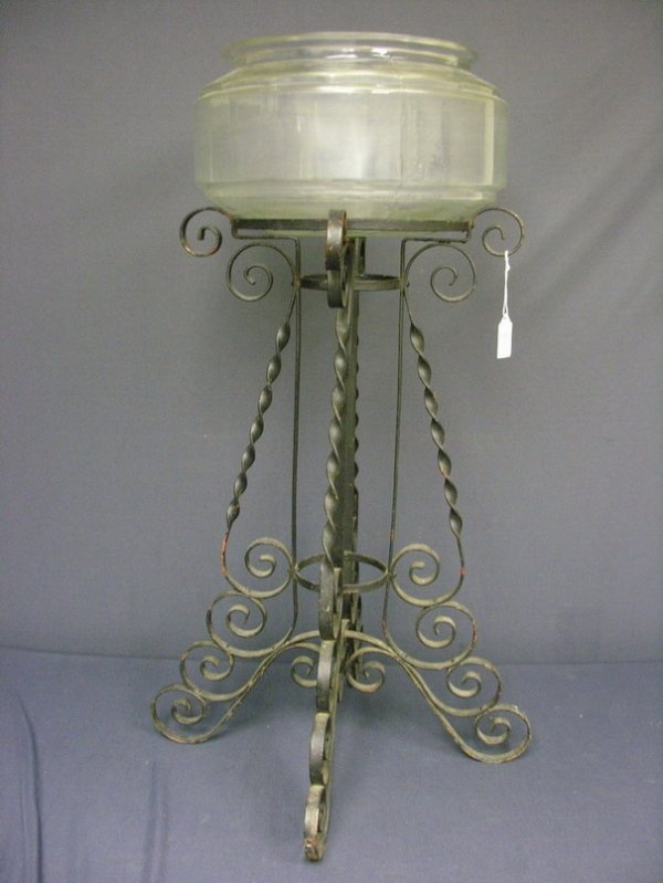 Pin by beth rickert kinsey on fish bowls stands for Fish bowl stand