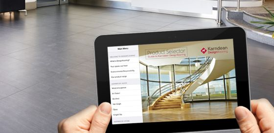 Our Product Selector App is now available on Android! | Karndean Designflooring
