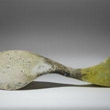 Cathy Burke, Bryum x pala XI #ceramics #distressed #glazes #art