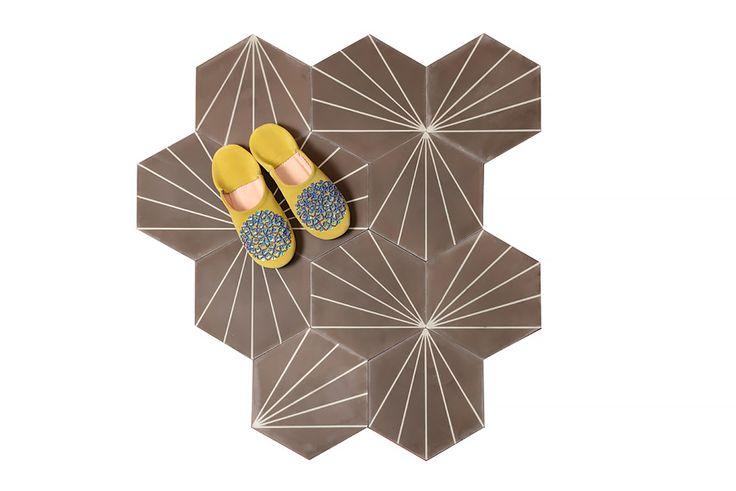 Dandelion - coffee/canvas - Collection 2016 - Marrakech Design