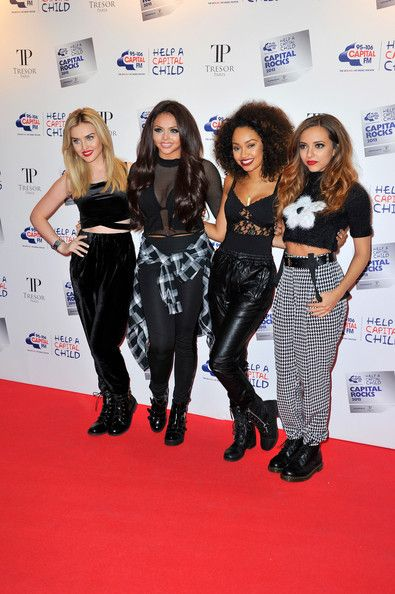 Little Mix Photos - Little Mix attend the annual 'Capital Rocks' concert in aid of the 'Help a Capital child' charity at The Roundhouse on November 28, 2013 in London, England. - Capital Rocks - Red Carpet Arrivals