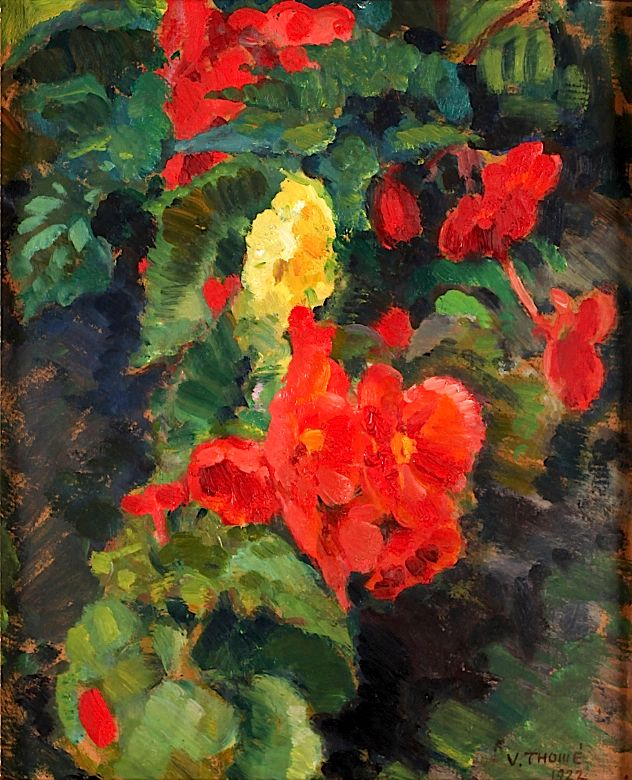 VERNER THOMÉ Flowers and Foliage