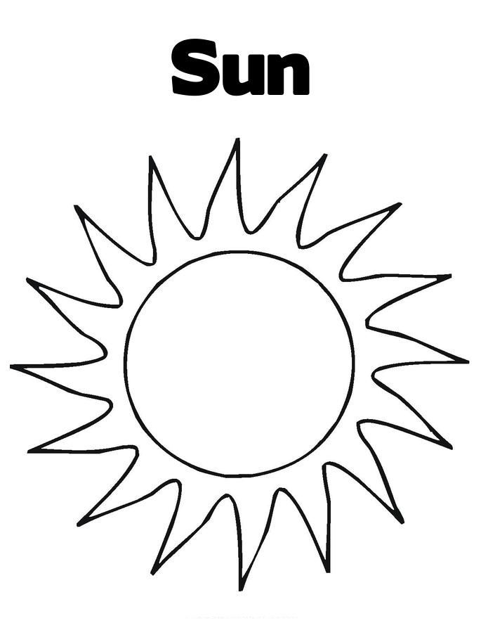 Free Printable Sun Coloring Pages For Kids Sun Coloring Pages Moon Coloring Pages Sun Template