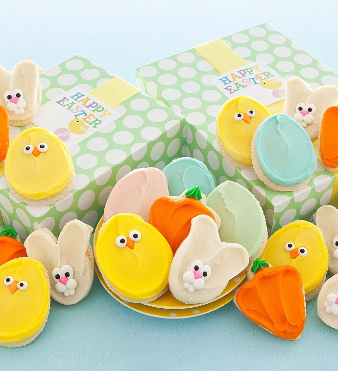 96 best cut out cookies easter images on pinterest easter easter cutout cookie gift negle Choice Image