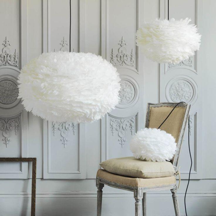 White Feather Shades | Feather Lighting | Vita EOS | G&G UK