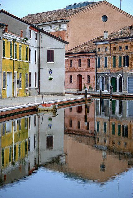 Comacchio, Emilia Romagna, Italy