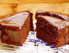 bizcocho chocolate esponjoso