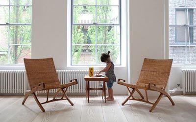 El loft minimalista de James Jebbia en Nueva York