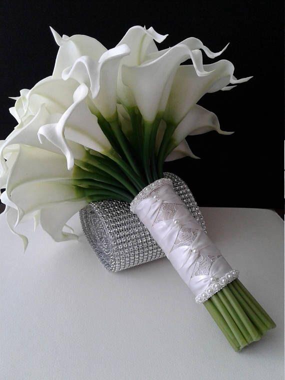 Свадебный букет из калл цена великие луки, для букетов