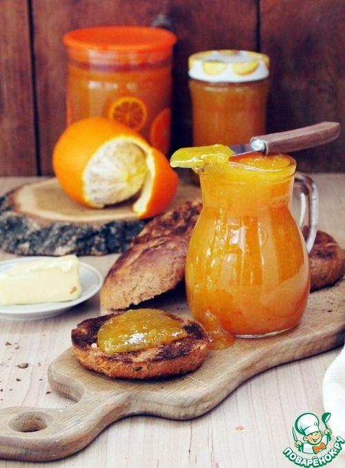 Апельсиновый джем в мультиварке - кулинарный рецепт