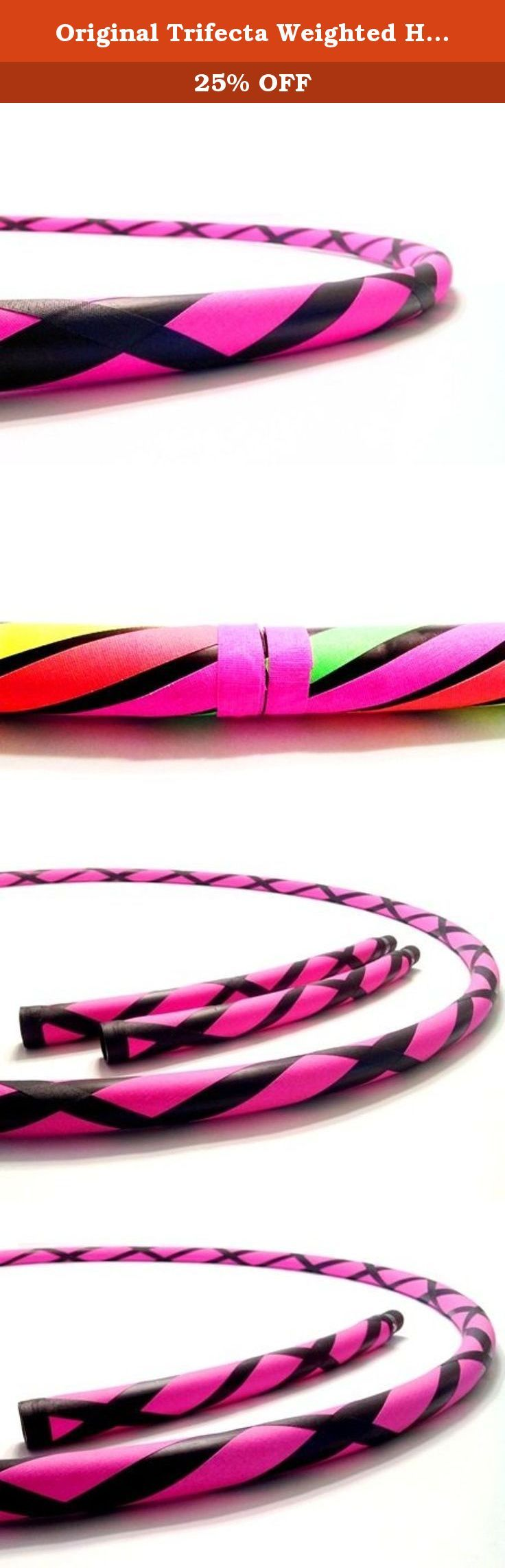 "Original Trifecta Weighted Hula Hoop (Lightning Sky)3 Hoops in 1 (40"" 1 Hula Hoop). DIRECT FROM THE MANUFACTURER. Featuring the original manufacturer of the ""TRIFECTA"" the newest innovation in hula hooping. Paradise Hoops is formally the manufacturer for about 90% of Hoopnotica's handmade hula hoops. We have the BEST QUALITY BEST PRICE. This ""TRIFECTA"" hula hoop was created by Janou Lightning former team leader of Hoopnotica. She took her expertise in the hooping industry and made a hoop..."