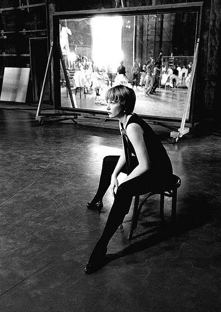 Shirley MacLaine in rehearsal, 1950s