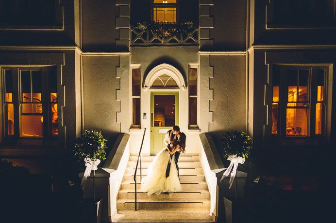 Romantic Wedding Pictures at night <3   The Green House Weddings, Bournemouth Wedding Venue