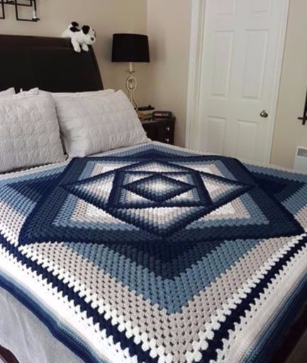Free Crochet Tutorial Smart and helpful tutorial let you make this awesome blanket quite fast. To get more inspiration and free patterns join us >>> Facebook Group. The full tutorial is below.  SAVE THIS PATTERN TO YOUR CROCHET PINTEREST BOARD HE