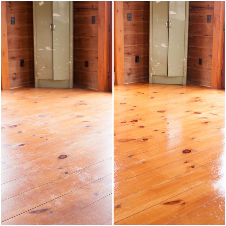 How To Restore Wood Floors For $5