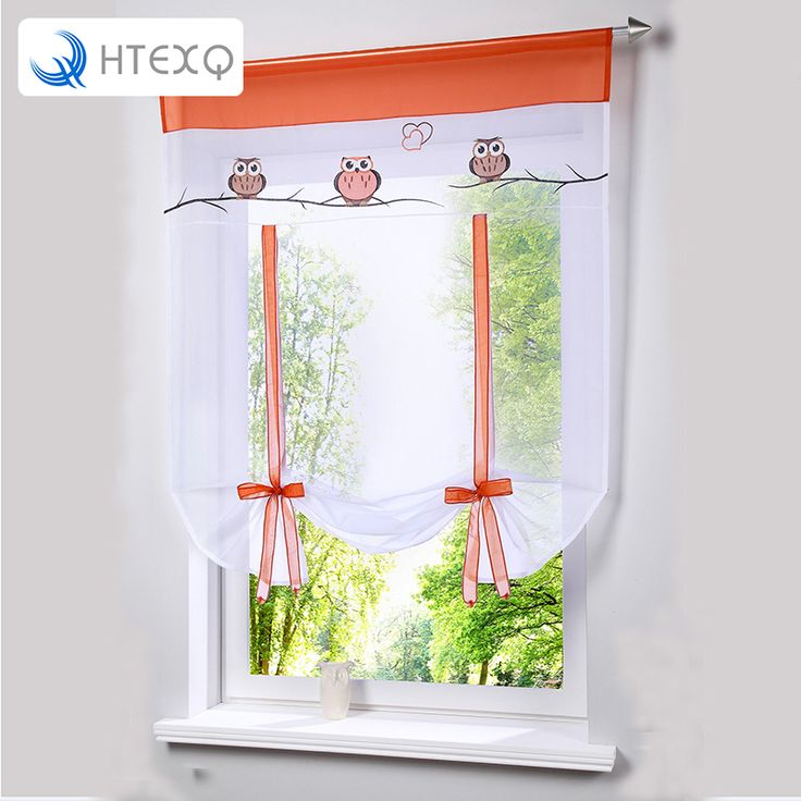 2016 Cafe Kitchen Curtains Voile Window Blind Curtain Owl: 25+ Best Ideas About Roman Curtains On Pinterest