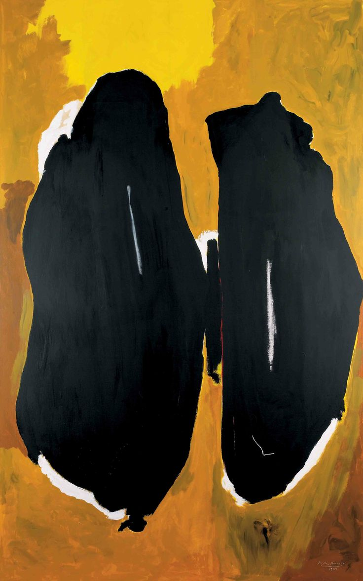 "Robert #Motherwell US ""Art is much less important than life, but what a poor life without it."""