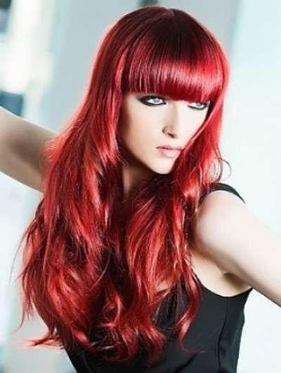 Tra i capelli rossi per il 2015, spicca il color rosso fuoco molto vivo.