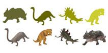 Free learning games for preschoolers online: Dinosaurs Shapes