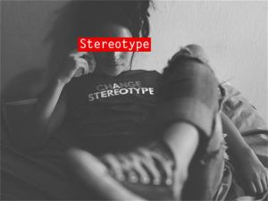 Women's Change a Stereotype Graphic T-shirt by Bootstrapped Apparel.