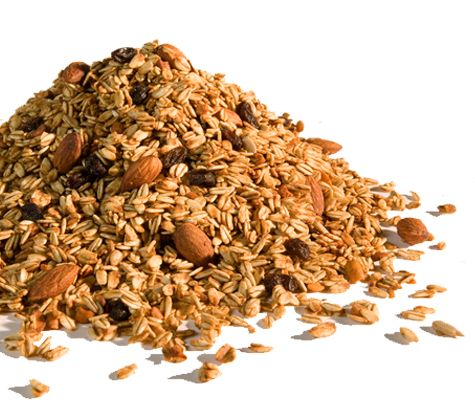 Refuel on your Park Fit bike workout  with a handful of homade crunchy granola.