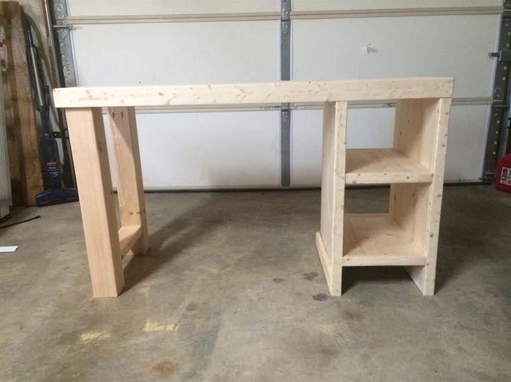 Home made desk- this way I could have a desk that actually fits me and that I can comfortably write at instead of having to reach up so much