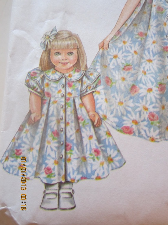 Simplicity 5203 Daisy Kingdom Easter Dresses Hats And