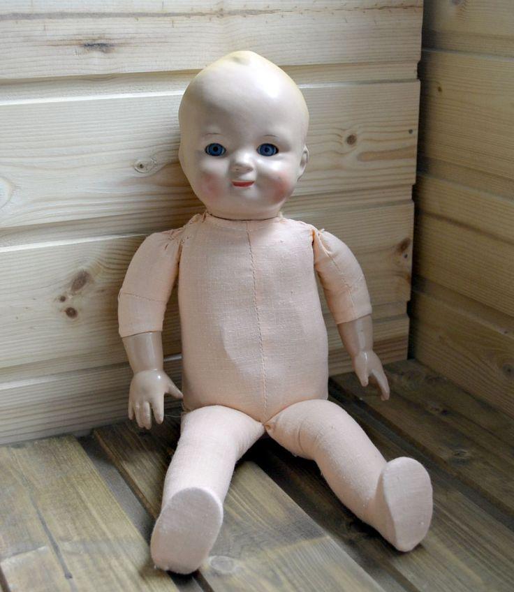 Редкая! Кукла Тата. Пресопилки. Фабрика 8 Марта. Автор М.Р. Димзе.