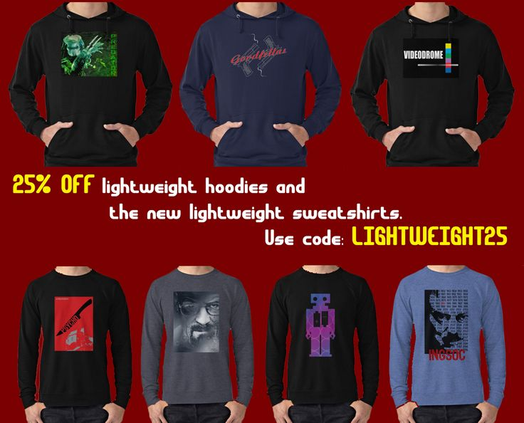 Get 25% OFF lightweight hoodies and the new lightweight sweatshirts. Use code LIGHTWEIGHT25. #hoodies #buyhoodies #mensclothing #womensclothing #buylogsleeveshirts #moviehoodies #movielongsleeve #giftsforhim #giftsforher #buycoolhoodies #hoody #longsleeve #onlineshopping #gifts #ValentinesGifts #discount #save #sales #redbubble