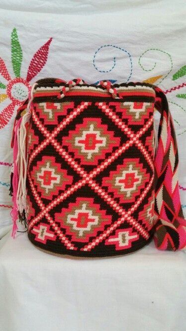 Wayuu Mochila bag Informacion +573012412266