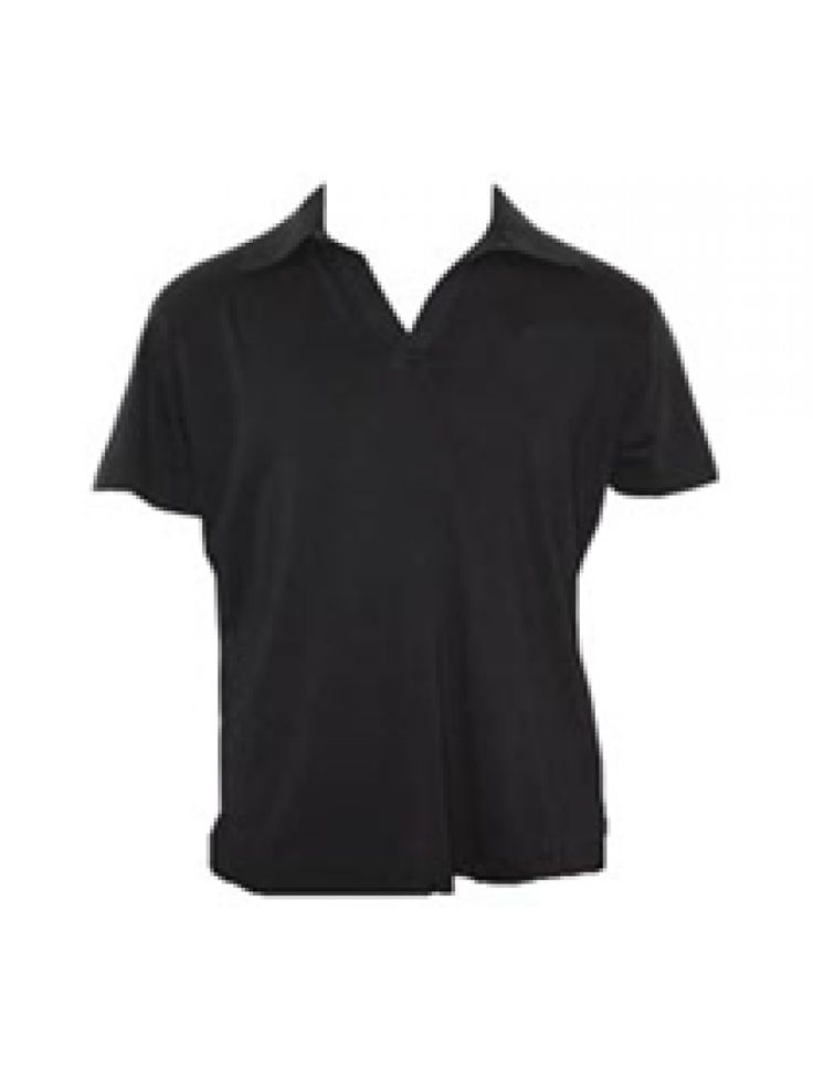 Organic Collared T-Shirt - Black Buy here: http://www.vegalyfe.com/organic-collared-t-shirt-black.html