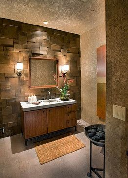 Wallpaper cork ideas cork wall paper design ideas for Bathroom designs cork