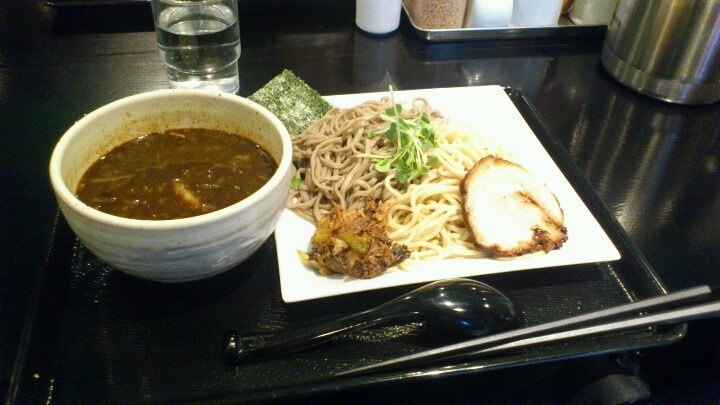 黒胡椒つけ麺美味しかったです