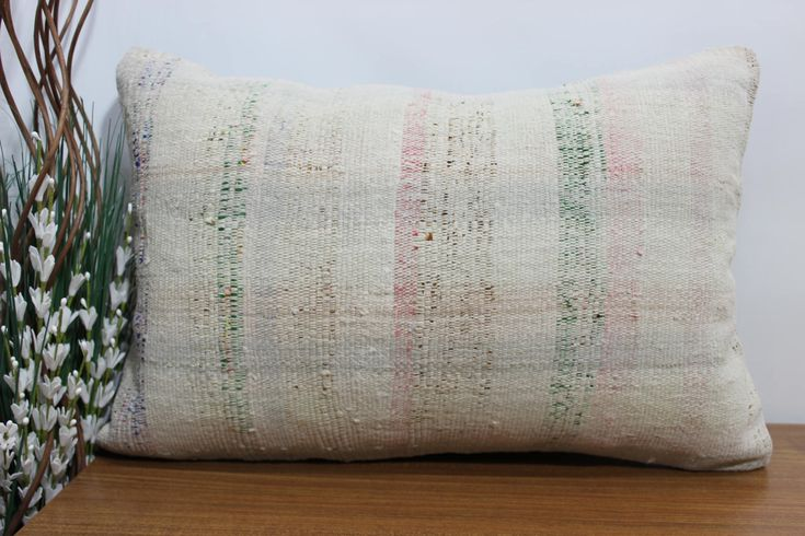 Excited to share the latest addition to my #etsy shop: simple kilim pillow anatolian kilim pillow 16x24 wool pillow striped pillow bohemian cushion couch pillow 16x24 aztec pillow http://etsy.me/2HZJGe0 #housewares #pillow #rectangle #bedroom #cotton #coveronly #kilim