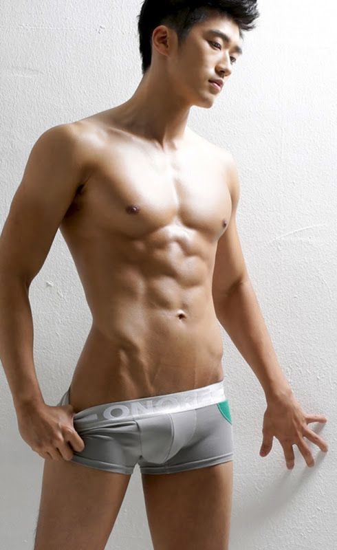 korean nude model male