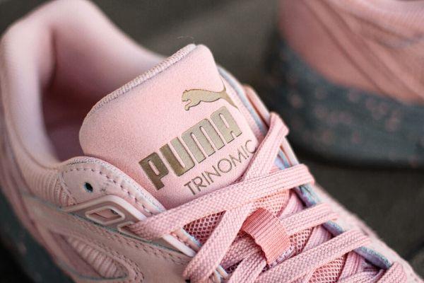 Chaussure Puma Femme Rose Pale