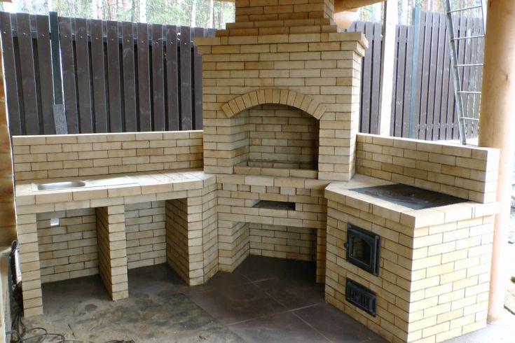 Услуги печника|сложить барбекю|кирпичное барбекю|кирпичный камин|кирпичная печь в дом|каминопечь|печь с камином