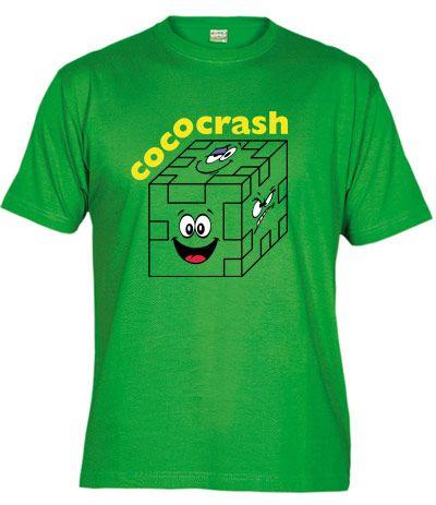 Camiseta del Cococrash, los puzzles de espuma con los que jugábamos de pequeño.