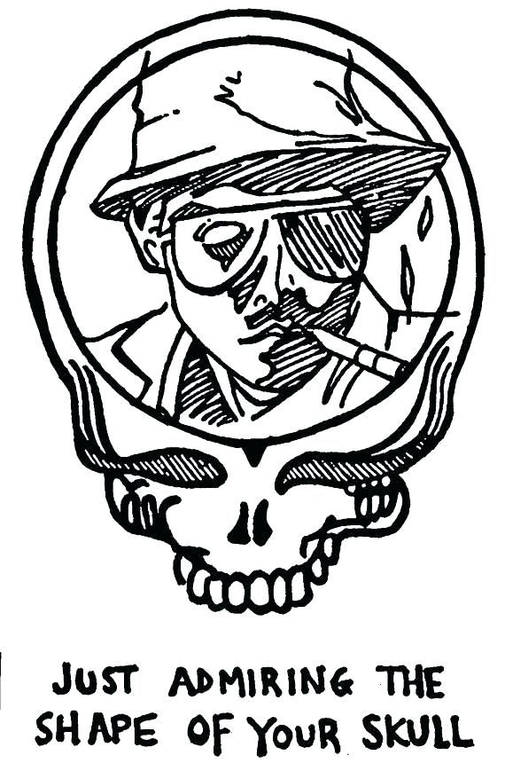 Grateful Dead Coloring Pages Grateful